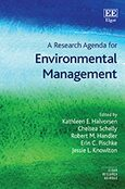 Cover A Research Agenda for Environmental Management