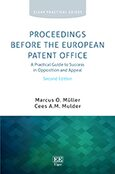 Cover Proceedings Before the European Patent Office