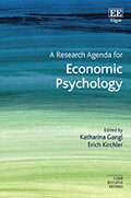 Cover A Research Agenda for Economic Psychology