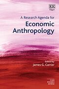 Cover A Research Agenda for Economic Anthropology