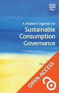 Cover A Research Agenda for Sustainable Consumption Governance