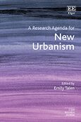 Cover A Research Agenda for New Urbanism