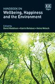 Cover Handbook on Wellbeing, Happiness and the Environment