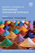 Cover Research Handbook on International Commercial Contracts