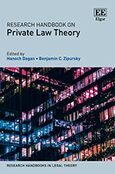 Cover Research Handbook on Private Law Theory