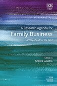 Cover A Research Agenda for Family Business
