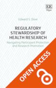 Cover Regulatory Stewardship of Health Research