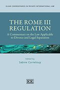 Cover THE ROME III REGULATION