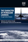 Cover The Character of Petroleum Licences
