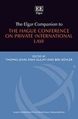 Cover The Elgar Companion to the Hague Conference on Private International Law