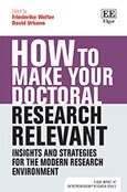 Cover How to Make your Doctoral Research Relevant