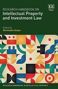 Cover Research Handbook on Intellectual Property and Investment Law