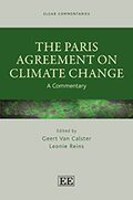 Cover THE PARIS AGREEMENT ON CLIMATE CHANGE