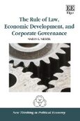 Cover The Rule of Law, Economic Development, and Corporate Governance