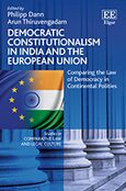 Cover Democratic Constitutionalism in India and the European Union