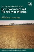 Cover Research Handbook on Law, Governance and Planetary Boundaries