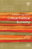 Cover A Research Agenda for Critical Political Economy