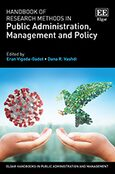 Cover Handbook of Research Methods in Public Administration, Management and Policy