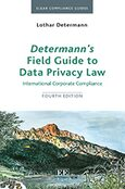 Cover Determann's Field Guide To Data Privacy Law