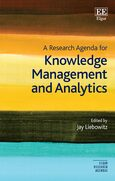 Cover A Research Agenda for Knowledge Management and Analytics