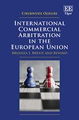 Cover International Commercial Arbitration in the European Union