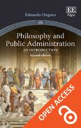 Cover Philosophy and Public Administration