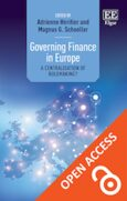 Cover Governing Finance in Europe