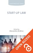 Cover Start-up Law