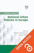 Cover A Modern Guide to National Urban Policies in Europe