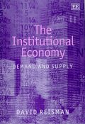 Cover The Institutional Economy
