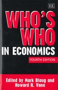 Who's Who in Economics, Fourth Edition