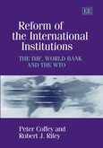 Cover Reform of the International Institutions