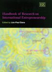 Cover Handbook of Research on International Entrepreneurship