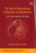 Cover The Role of International Institutions in Globalisation