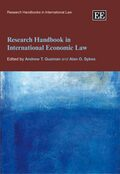 Cover Research Handbook in International Economic Law