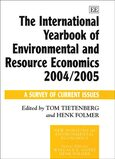 Cover The International Yearbook of Environmental and Resource Economics 2004/2005