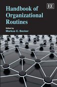 Cover Handbook of Organizational Routines