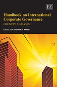 Cover Handbook on International Corporate Governance