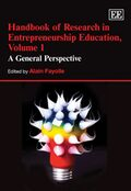 Cover Handbook of Research in Entrepreneurship Education, Volume 1