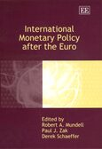 Cover International Monetary Policy after the Euro