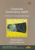 Cover Corporate Governance Adrift