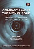 Cover Company Law in the New Europe
