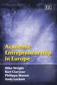 Cover Academic Entrepreneurship in Europe