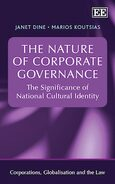 Cover The Nature of Corporate Governance