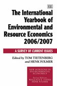 Cover The International Yearbook of Environmental and Resource Economics 2006/2007
