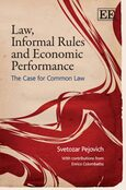 Cover Law, Informal Rules and Economic Performance