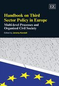 Cover Handbook on Third Sector Policy in Europe