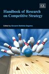 Cover Handbook of Research on Competitive Strategy