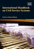 Cover International Handbook on Civil Service Systems