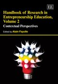Cover Handbook of Research in Entrepreneurship Education, Volume 2